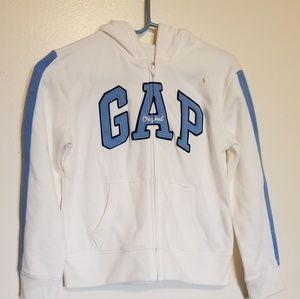 Gap Kids logo zip hoodie